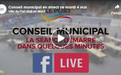 [Vidéo] Replay, conseil municipal en direct du mardi 4 mai.