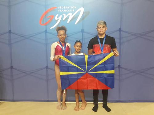 De belles performances des gymnastes réunionnais
