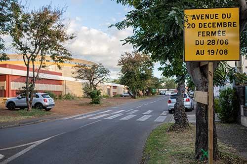 L'avenue du 20 décembre fermée à compter du 28 juin pour cause de travaux