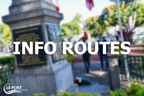 Fête nationale : route fermée ce mercredi