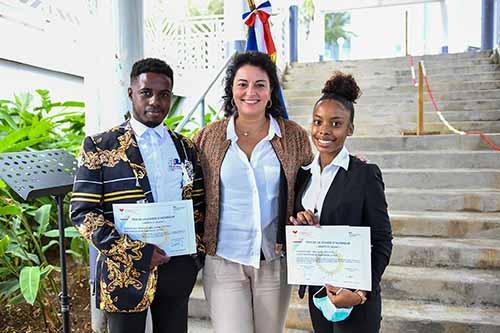 Deux Portois reçoivent le Prix Légion d'Honneur du concours « Mérite et Talent »