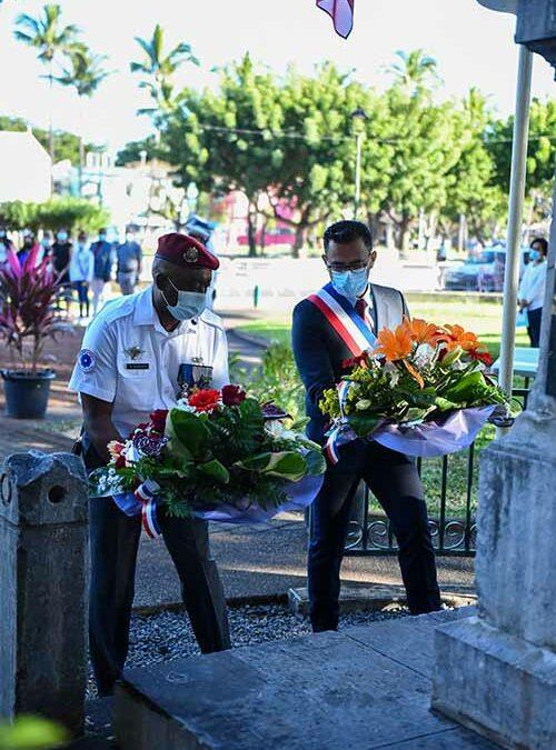 Commémoration du 14 juillet au Port
