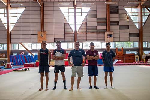 Gymnastique : les Réunionnais du Pôle France au Port
