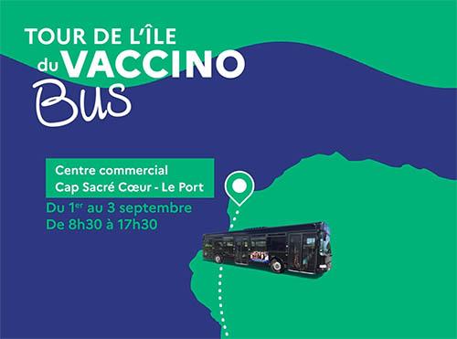 Le Vaccinobus s'arrête au Port du 1er au 3 septembre