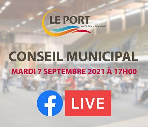 Suivez le conseil municipal en direct ce mardi 7 septembre