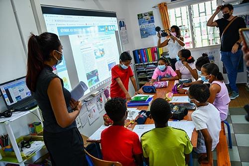 Des écoles connectées au Port