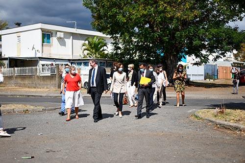 Visite du CDC Habitat au Port
