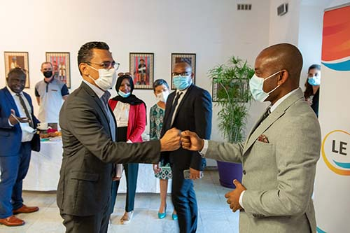 Visite du maire de Mamoudzou au Port