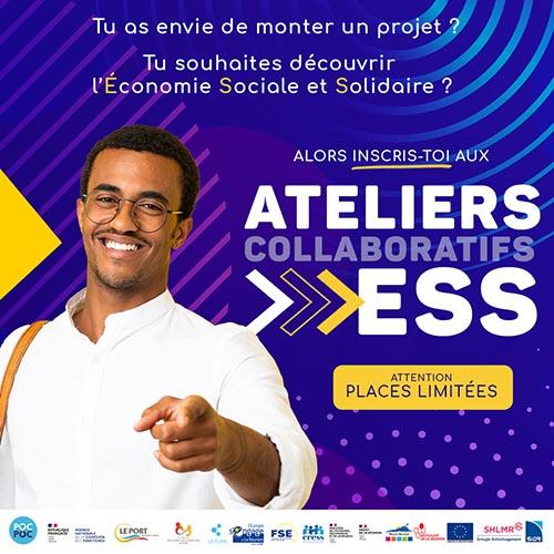 Économie Sociale et Solidaire : inscriptions aux ateliers collaboratifs
